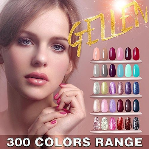 gellen uv gel esmalte de uñas 6 colores vibrantes nail art m