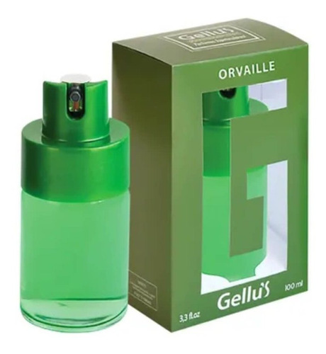 gellus orvaille colônia 100ml