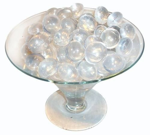 gelo artificial reutilizável pote com 20 unidades bolinha