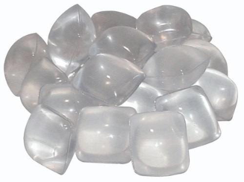 Cubo de gelo de plástico