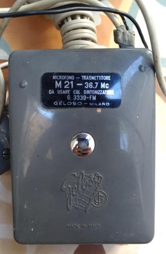 geloso sintonizador fm g.3339 made in itália