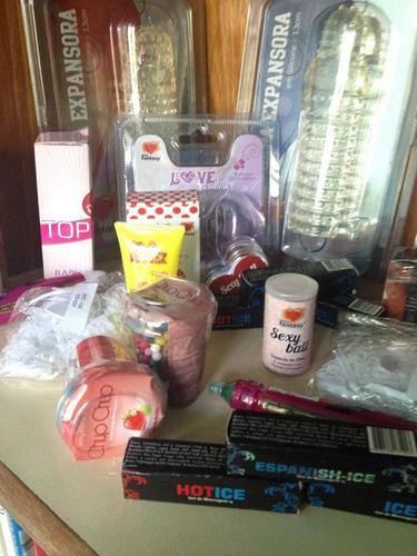 gels, bolinhas, lubrificantes, fantasias, acessórios