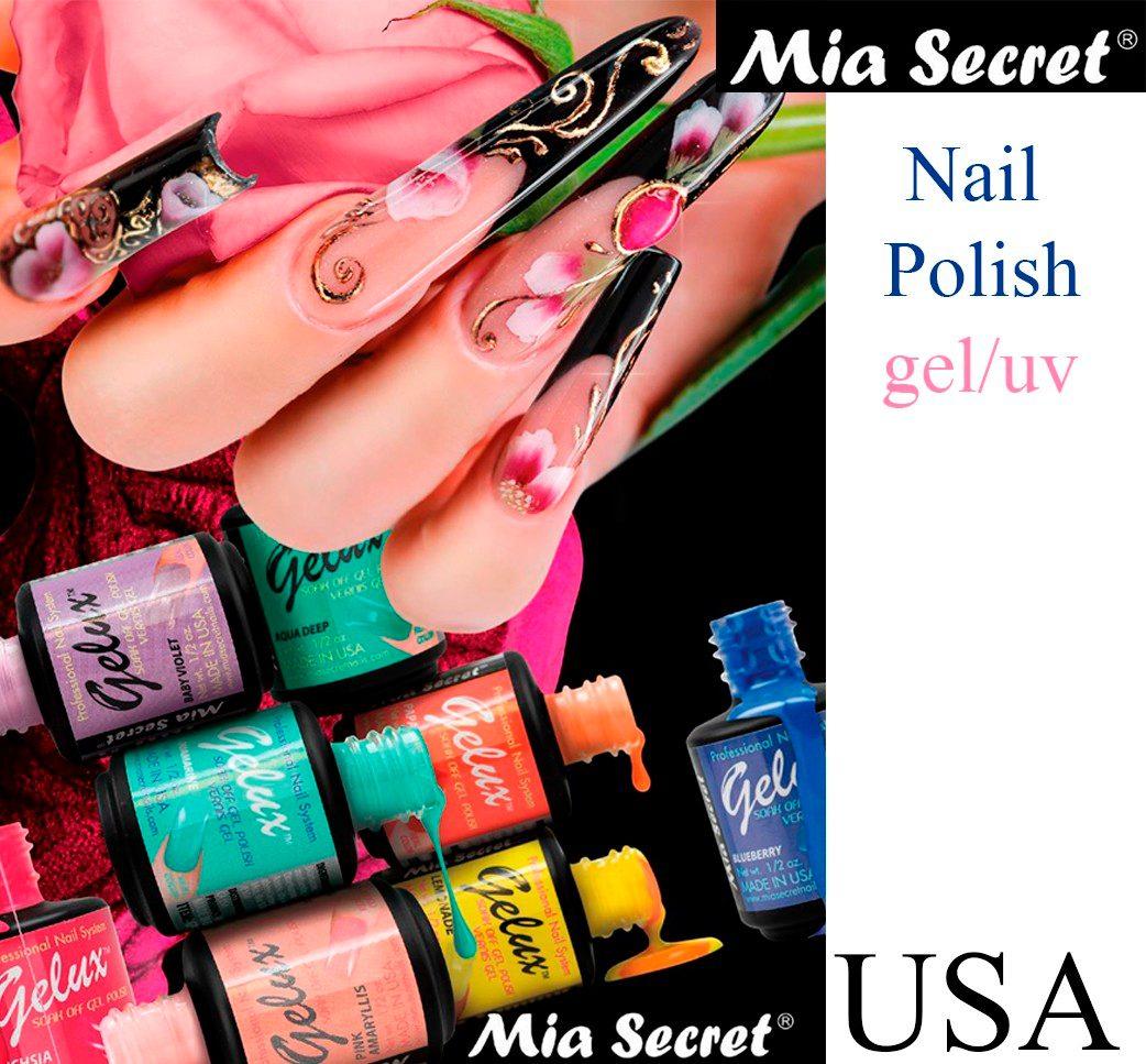 Gelux Esmalte En Gel Semipermanente De 21 Dias Mia Secret - $ 220.00 ...