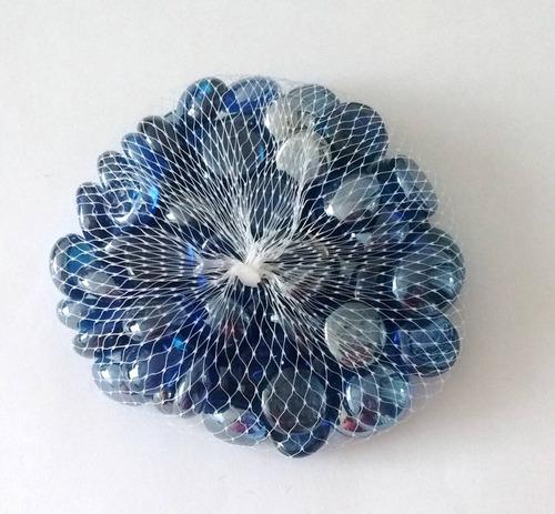 gema vidro pedra decorativa decoração vaso festa artesanato