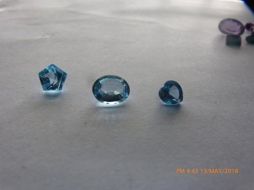 gemas, piedras preciosas y semipreciosas faceteadas original