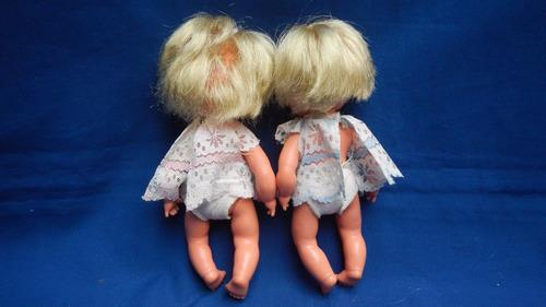 gemelitas,hermosas muñecas de coleccion ,de basa.