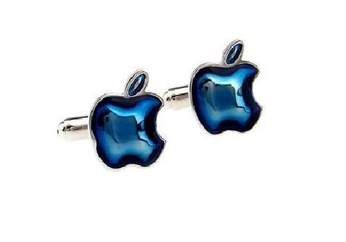 gemelos apple con estuche de lujo
