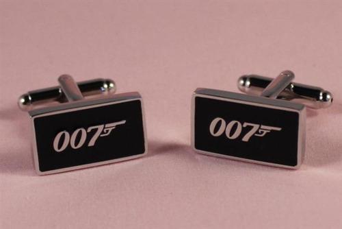 gemelos mancuernas 007 james bond
