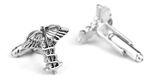 gemelos mancuernas símbolo médico medicina
