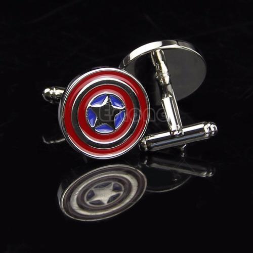 gemelos marvel - modelo escudo capitan america