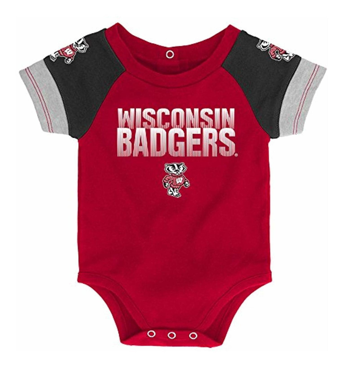 Gen 2 NCAA Unisex-Child NCAA Newborn /& Infant 50 Yard Dash Bib /& Bootie Set