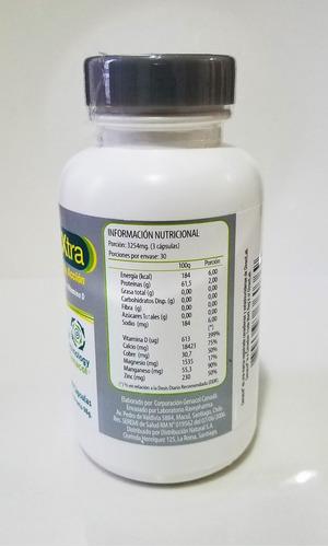 genacol xtra colágeno hidrolizado + calcio y vit d  90 caps