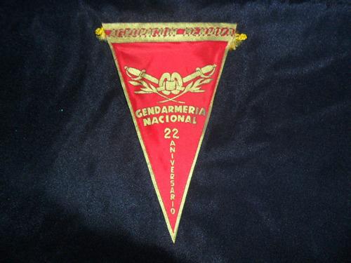 gendarmeria nacional agrupacion mendoza 22 aniver banderin