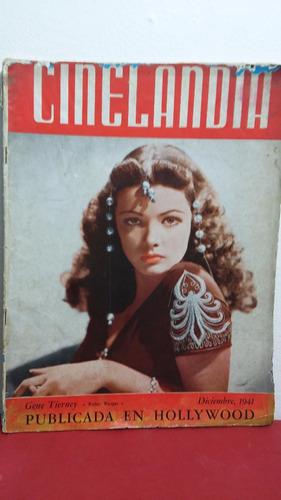 gene tierney revista cinelandia diciembre 1941