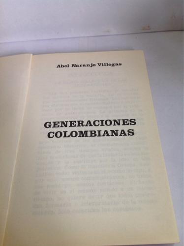 generaciones colombianas - abel naranjo villegas