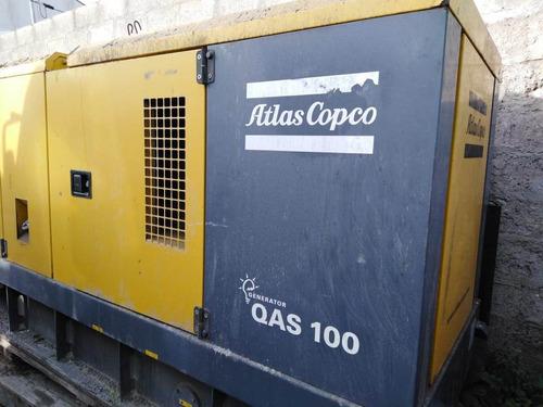 generador 100 kva atlas copco