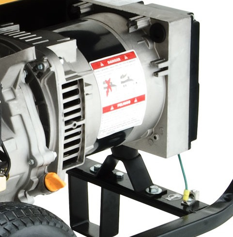 generador a gasolina 5500 w 10 hp evans planta g55mg1000thw