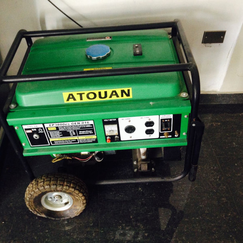 generador atouan ep 3800 watts 9.0 hp.negociable