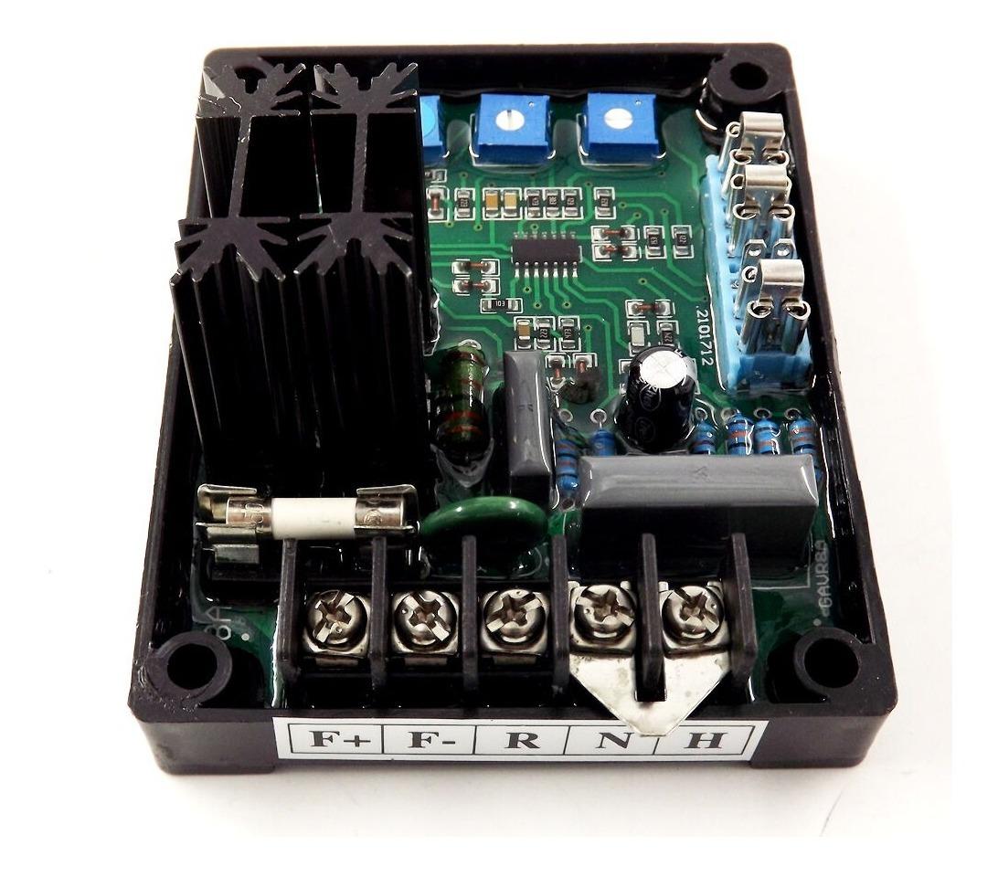 8A Universal Placa Módulo regulador Automático De Voltaje Generador Avr Gavr