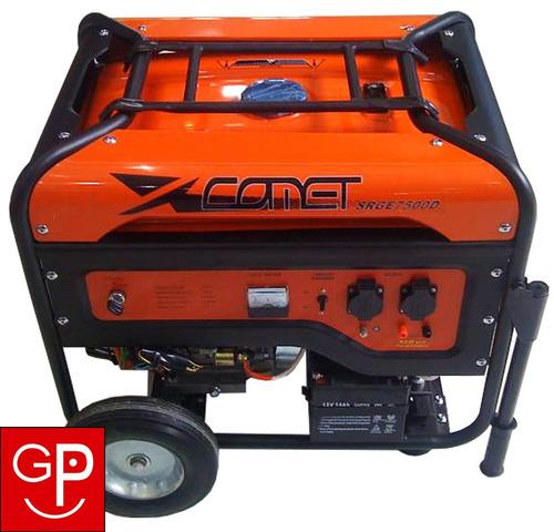 generador comet 14hp a nafta srge7500d