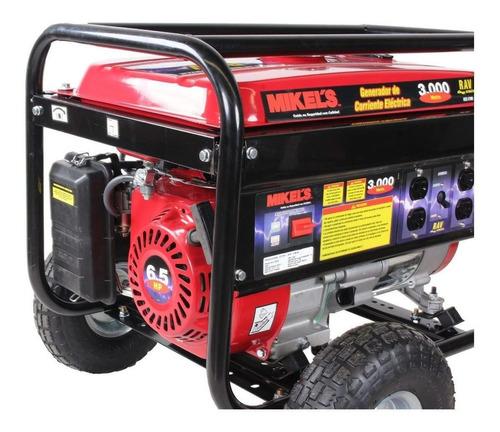 generador corriente electrica  2700 watts 6.5 hp mikels