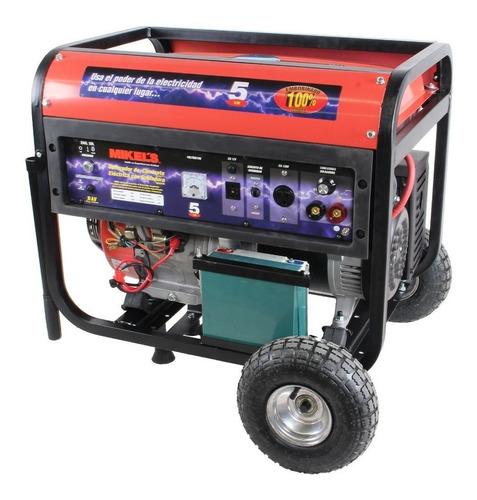 generador corriente electrica  5500w c/soldadora 200 amp
