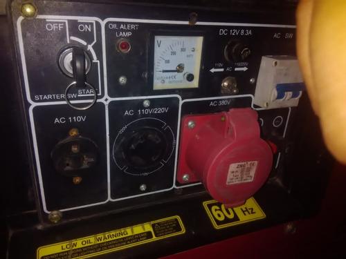 generador de 11000 watts