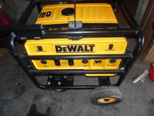 generador de 6000 w  dewalt dg6000