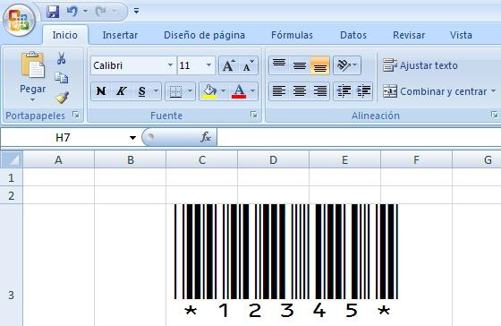 Generador De C 243 Digos De Barras Excel Word Access Etc
