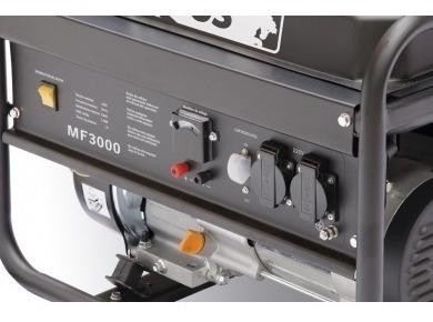 generador de corriente a nafta 3000w equus premium + regalo