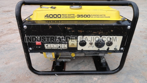 generador de corriente champion 4000 watts