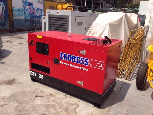 generador de corriente endress ese 25