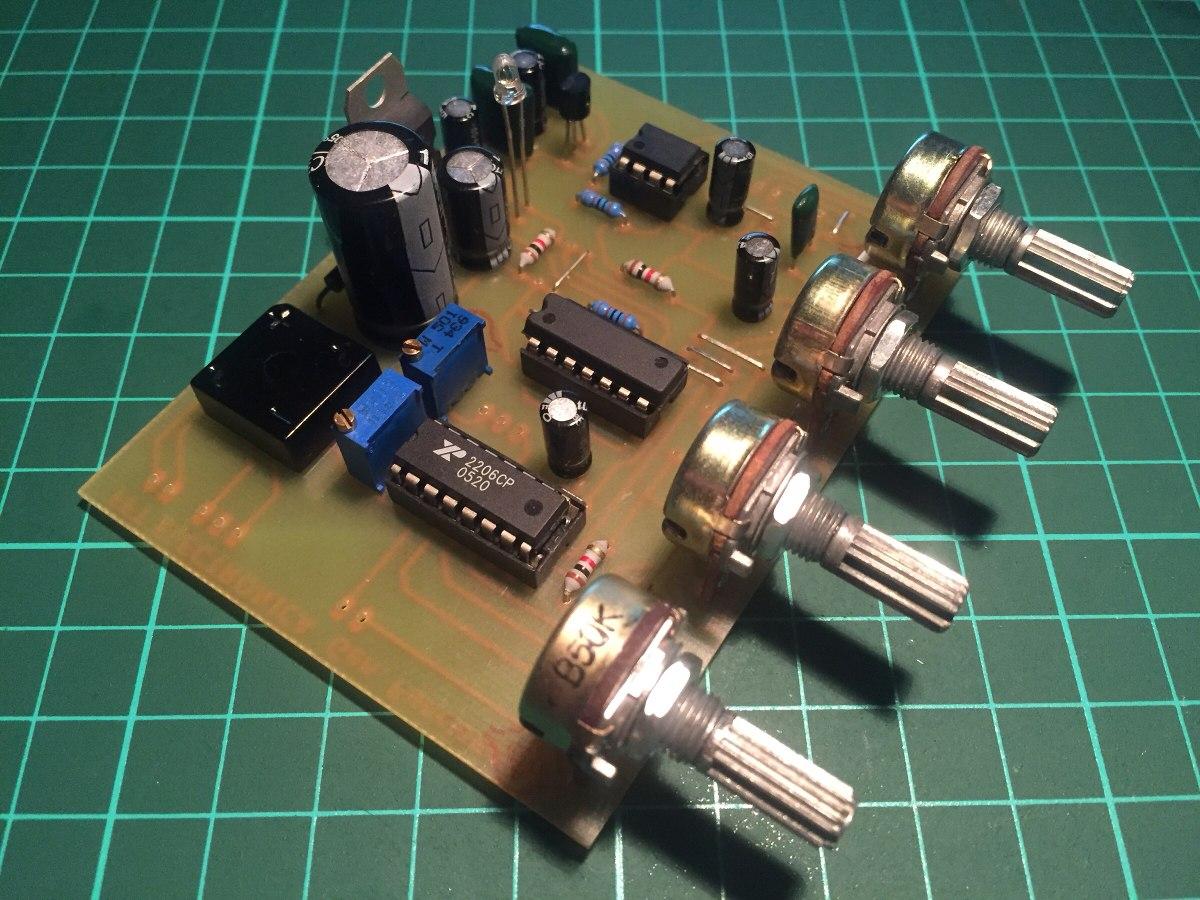 Circuito Xr2206 : Generador de funciones xr en mercado libre