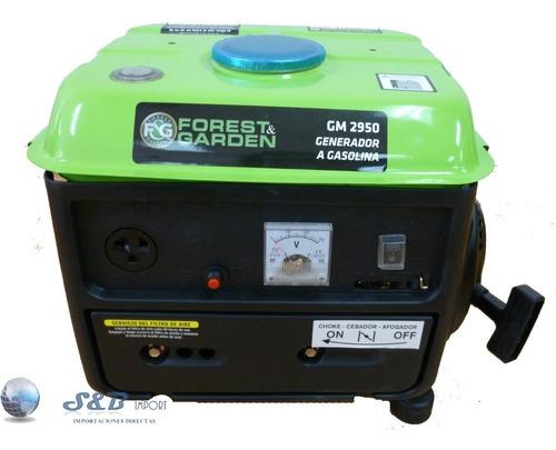 generador de luz 750w forest garden a gasolina gm2950