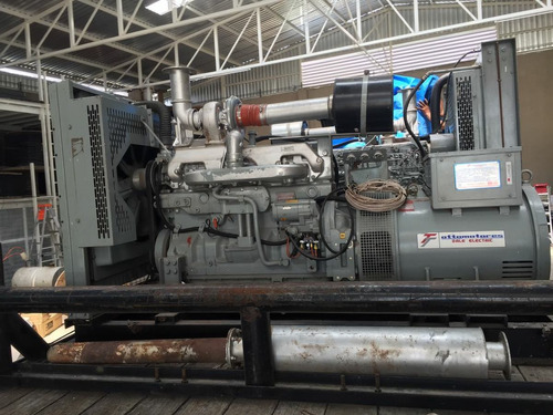 generador de luz de 150 kw seminueva