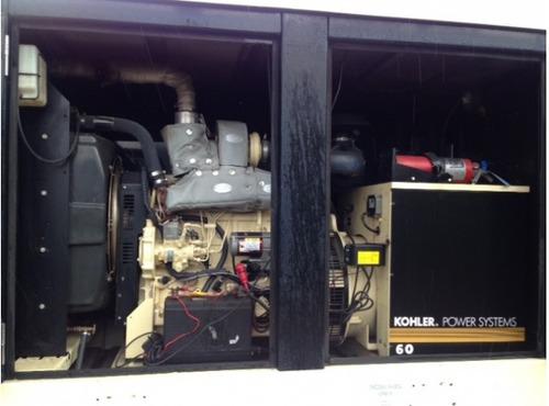 generador de luz kohler 62 kw john deere diesel remolque