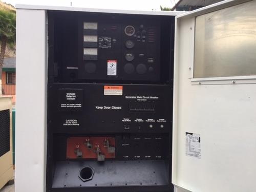 generador de luz onan 35 kw diesel nacional 4 disponibles