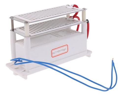 generador de ozono cerámica 110 v/h doble placa de