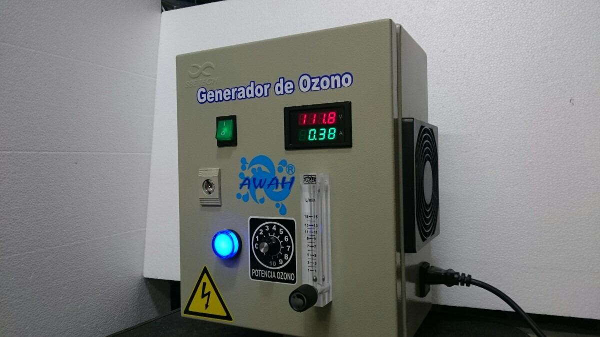 Generador de ozono de 2 2 gr 3 gr 8 en mercado for Ozono para piscinas