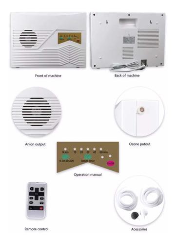 generador de ozono, doméstico desinfecta, agua, aire y alime