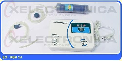generador de ozono o3 timer y bomba de aire acuarios 500mg/h