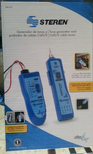 generador de tonos y probador de cable utp, stp y sftp cat