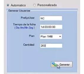 Generador De Usuarios Mikrotik Voucher Tickets Hotspot