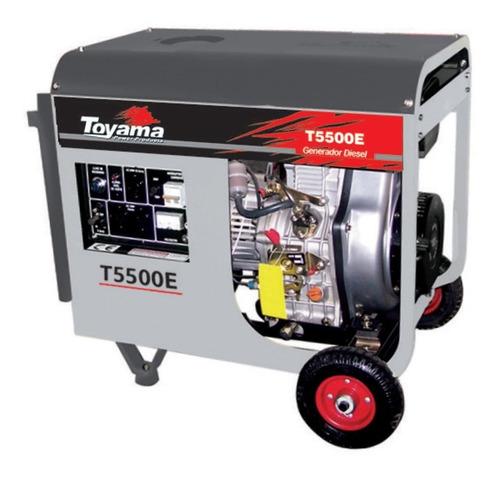 generador diesel 5,5kw 120/240v monofasico