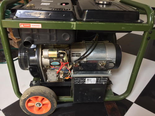 generador disel 5500 bauker (planta)
