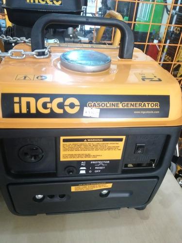 generador electrico a gasolina 110v 8.3a 0.8kva 12v ingco