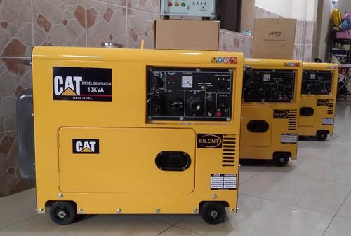 generador eléctrico caterpillar 10kva a diésel