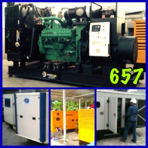generador eléctrico desde 15kva