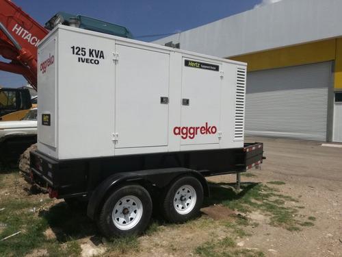 generador electrico iveco 100kw/125kva