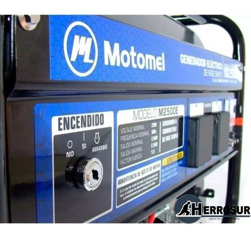 generador eléctrico motomel 2500e arranque con llave